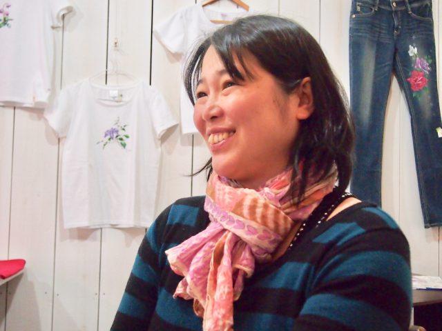 守田雪子さん:ギャラリーカフェ京都ときじく 代表